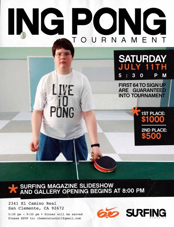 ING PONG Tournament
