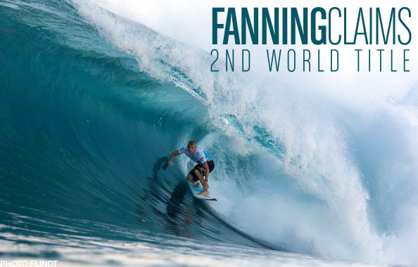 b8072b282e Mick Fanning Claims Second ASP World Title at the Banzai Pipeline. December  12