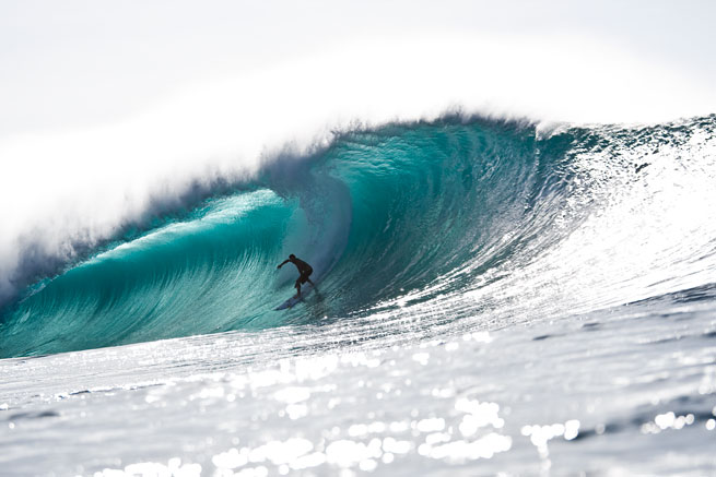 You'll be seeing plenty of this from Bruce Irons come Pipe Masters time.