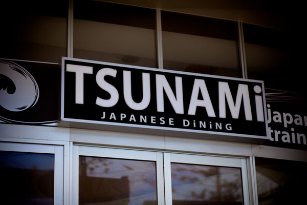 Tsunamis can kill, destroy, maim and maybe give a little tummy ache (if eaten on a Sunday night).