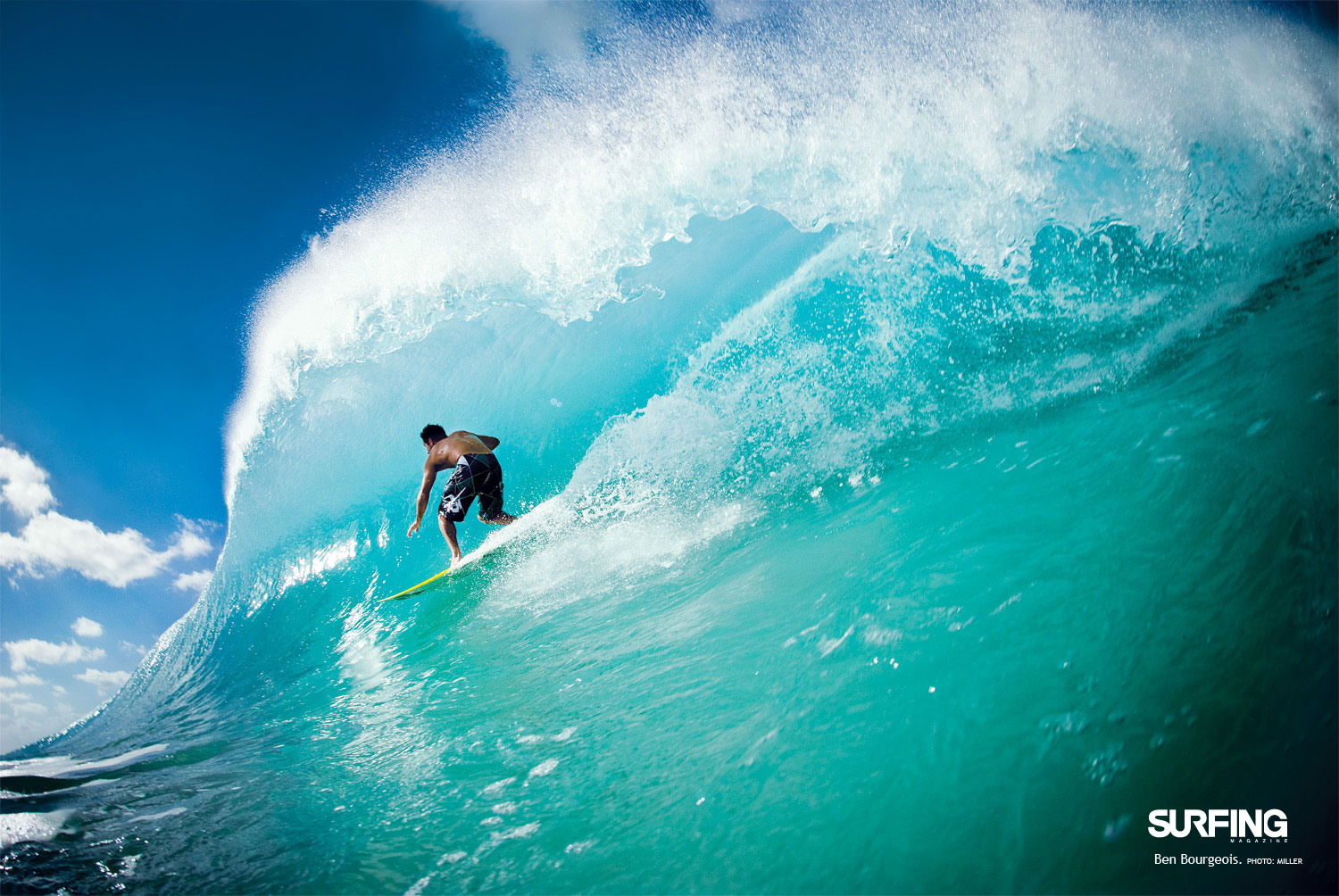 july issue wallpaper - surfer magazine