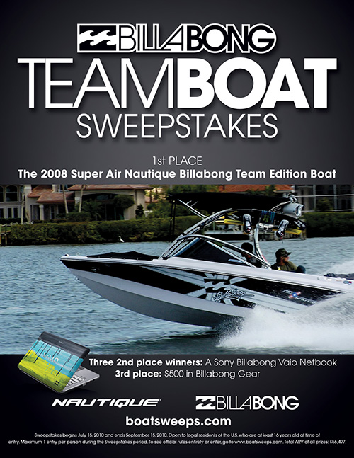 boat sweepsstakes