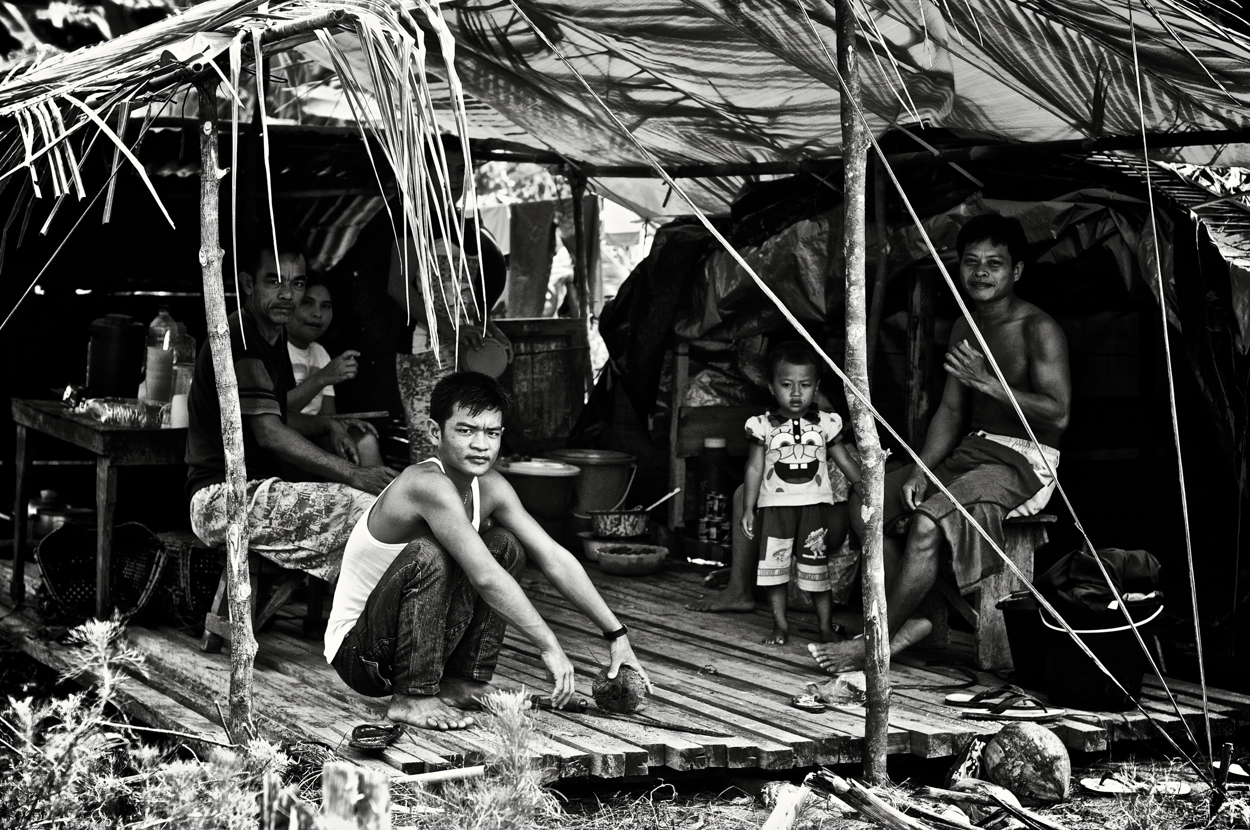 More than 11,400 people are still displaced from their homes. Photo: Michael Lawrence/SurfAid