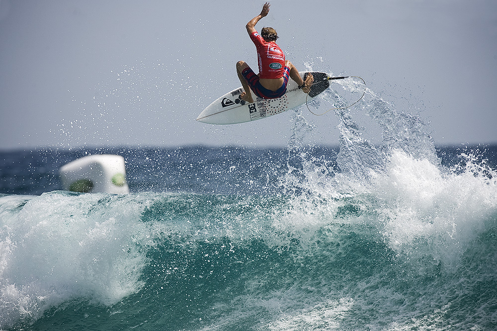 Dane Reynolds has pulled out of Quik Pro on the Gold Coast. Photo: Ellis