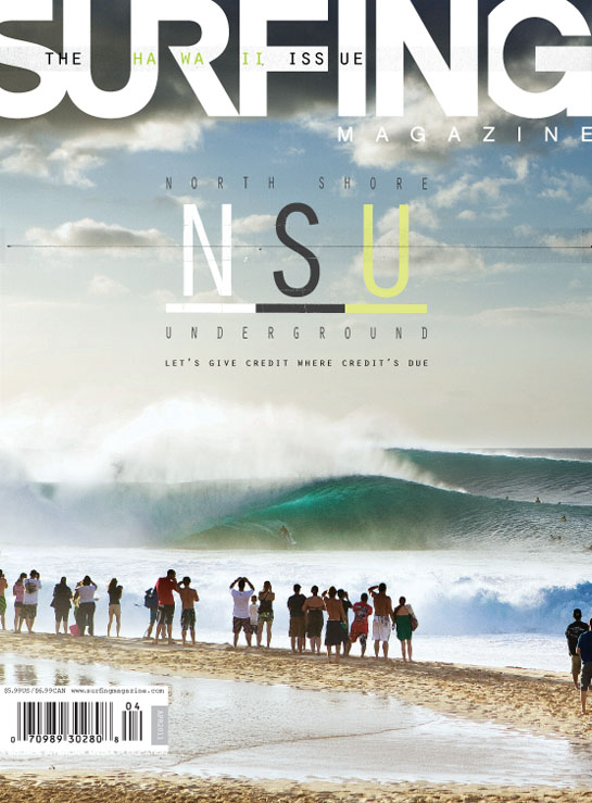April Issue 2011 Surfing Magazine