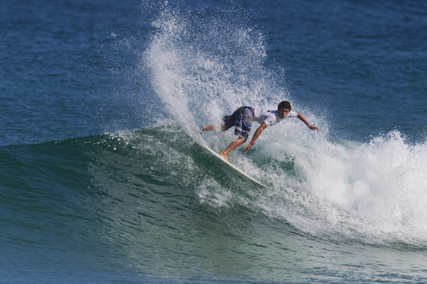 Kymerson, on his way to an event win. Photo: Courtesy of Oakley