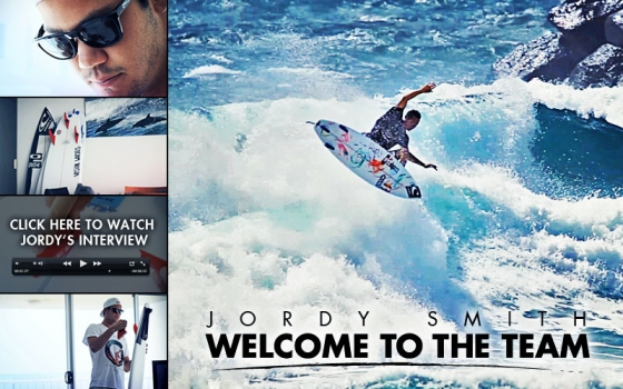 Jordy Smith Signs with Futures