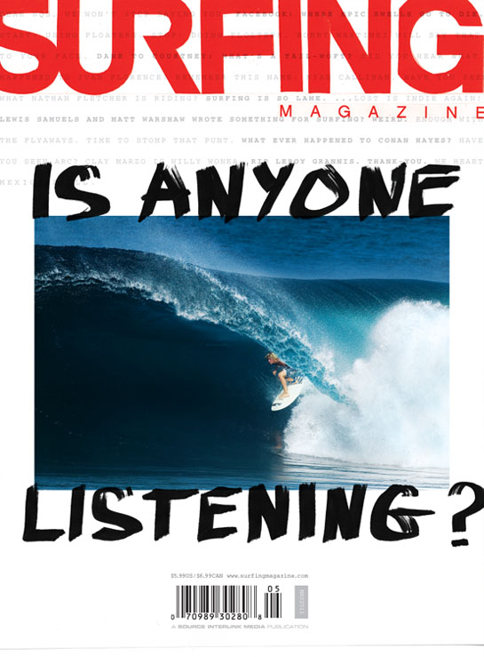 May Issue 2011 Surfing Magazine