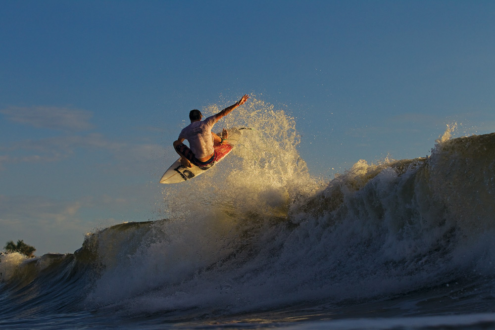 Class is now in session with frequent Slob-er Dane Reynolds. Photo: Glaser