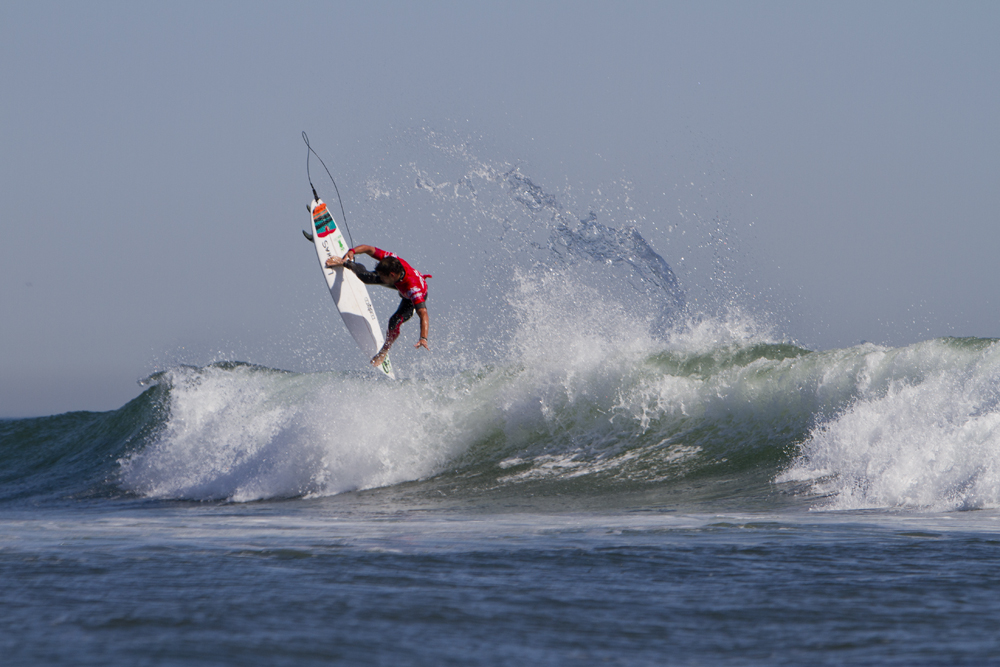 Alejo Muniz made a statement in the first day of competition at Lowers. Photo: Lowe-White