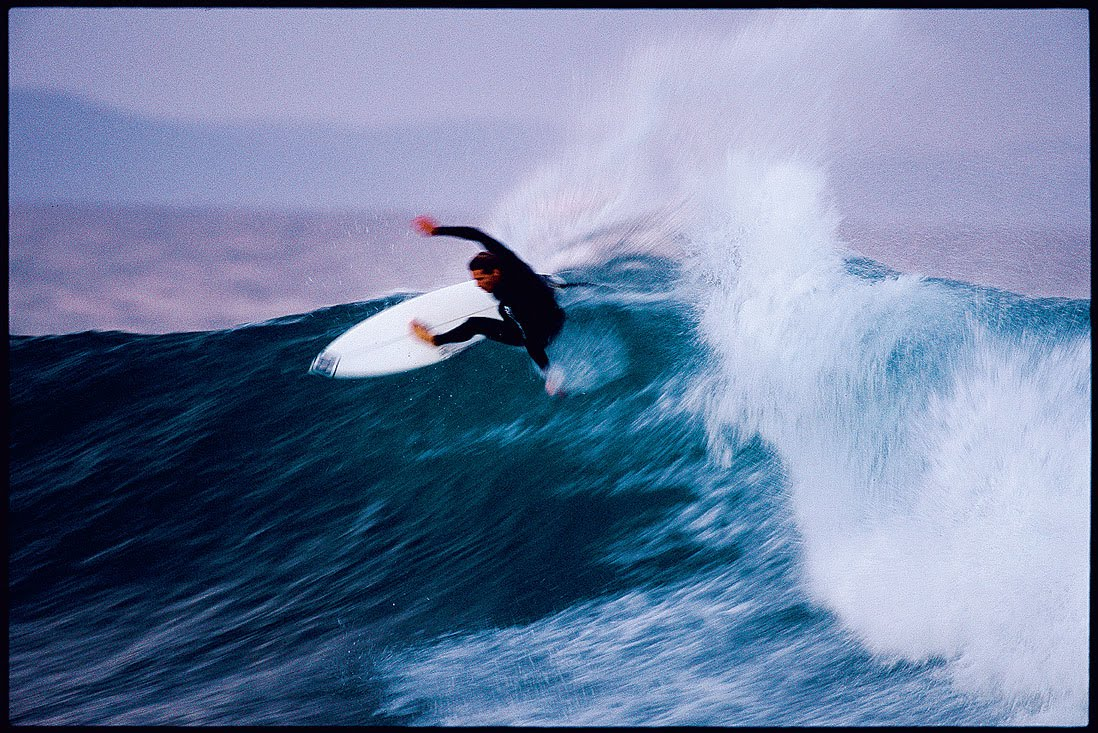 Andy had one of the most distinctive approaches of all time, mixing grace and reckless abandon seamlessly. Photo: Ellis