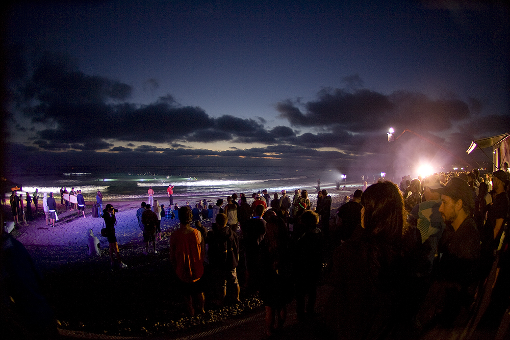 """Dusk Patrol"" takes on new meaning at Seaside. Photo: Lowe-White"