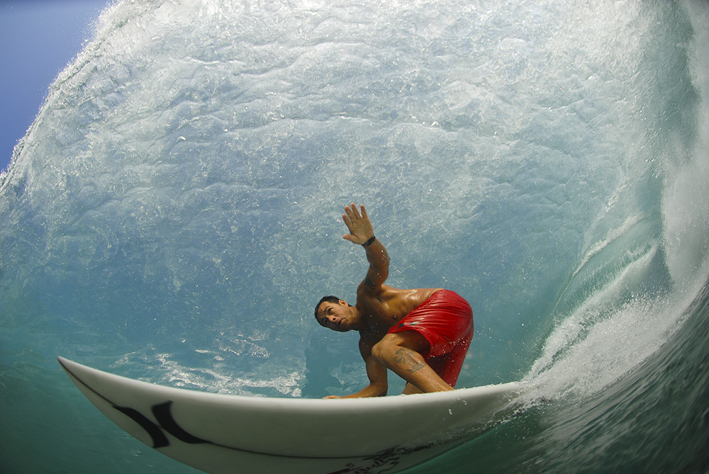 Coco Nogales with be the first to tell you that huevos are an important part of surfing in Puerto Escondido. Photo: Pina