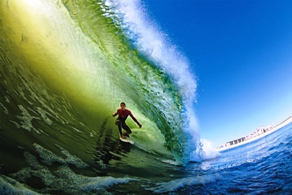 Balaram Stack, wildcard into the 2011 Quiksilver Pro New York, will take on the world's best surfers at his home break beginning September 4th. Photo: QUIKSILVER
