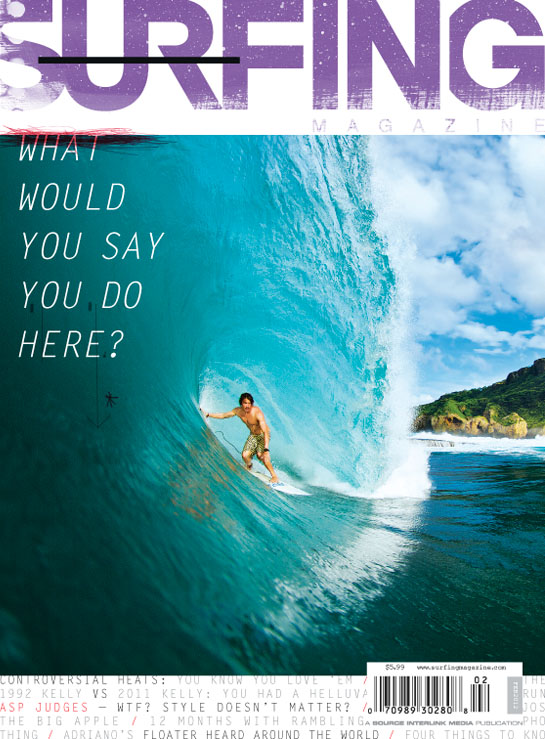 February Issue 2012 Surfing Magazine