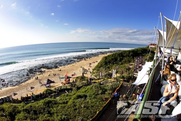 The famed righthanders of Jeffreys Bay will play host to an ASP 6-Star event in 2012. Credit: © ASP / SCHOLTZ