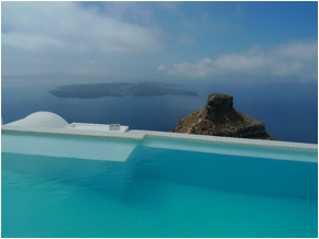 One of our favorite spots: Santorini, Greece