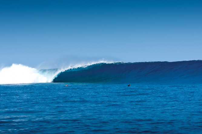 Cloudbreak, in all her glory. Photo: Carey
