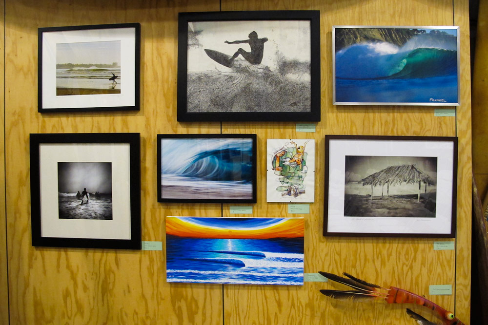 The event also featured a plethora of art and photography. Photo: Glaser