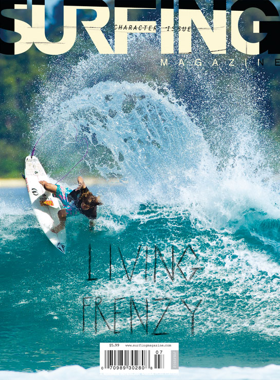July Issue 2012 Surfing Magazine Cover