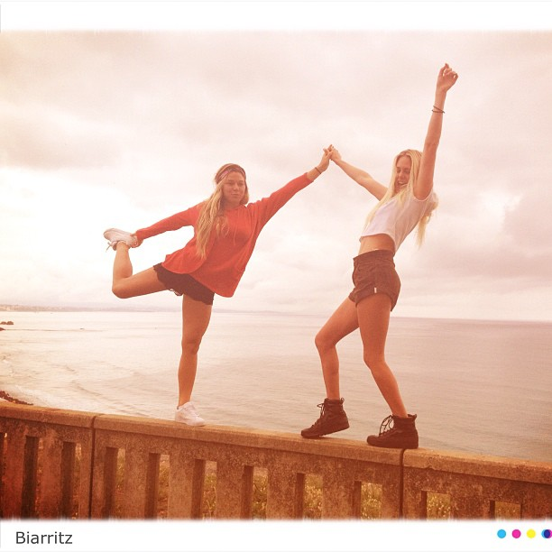Coco Ho and Laura Enever. Photo: xococoho