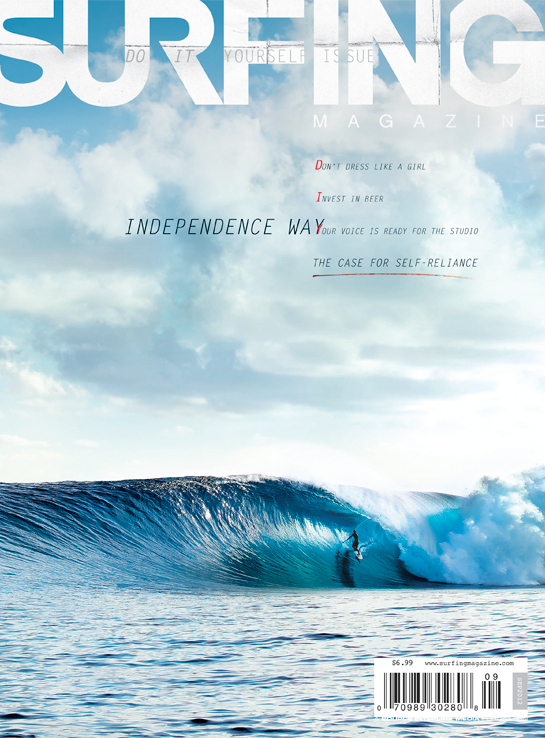 September Issue 2012 SURFING Magazine