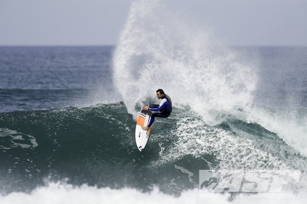 Joel Parkinson (AUS), 31, current ASP WCT No. 1, has a chance to clinch the 2012 ASP World Title at this week's O'Neill Cold Water Classic in Santa Cruz. Photo: ASP