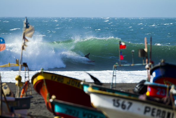 Surfer Magazine editorial trip to South America October 2011
