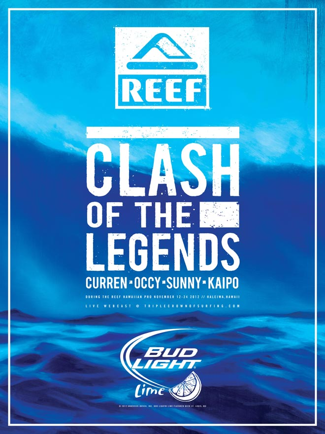 1256941447 Clash of the Legends Returns to Reef Hawaiian Pro 2012 - SURFER Magazine