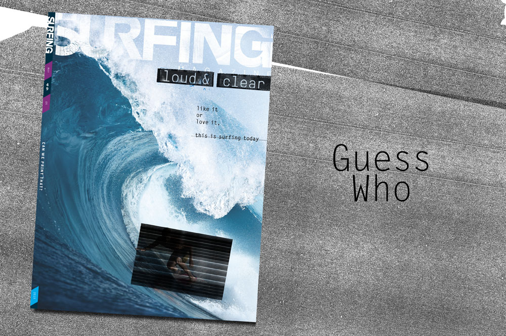May Issue Cover Drop. Can you guess who?