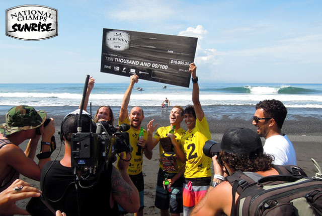 2013 National Champions: Sunrise Surf Shop