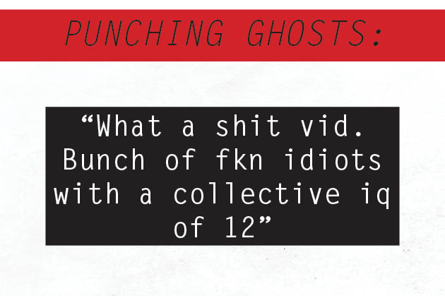 Punching Ghosts: August 9th