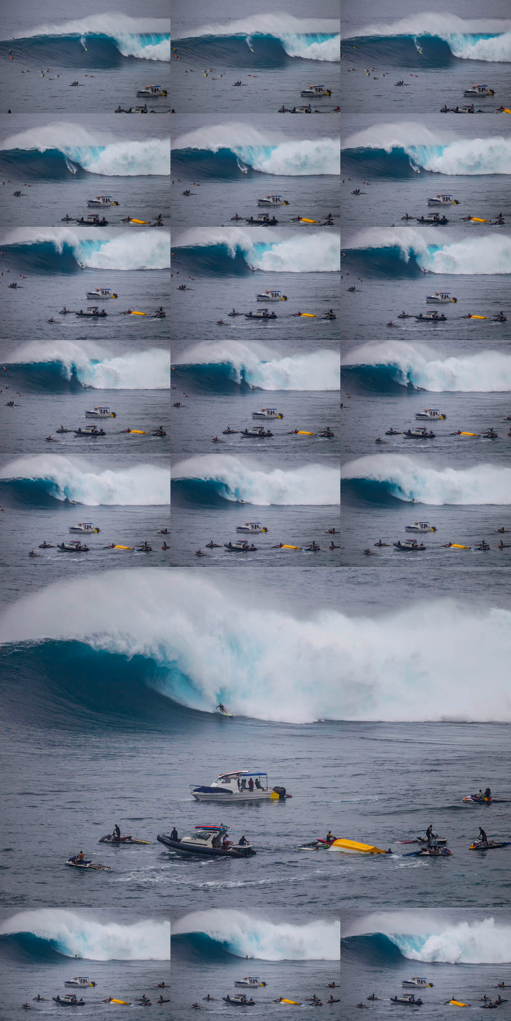 Dege O'Connell XXL wipeout