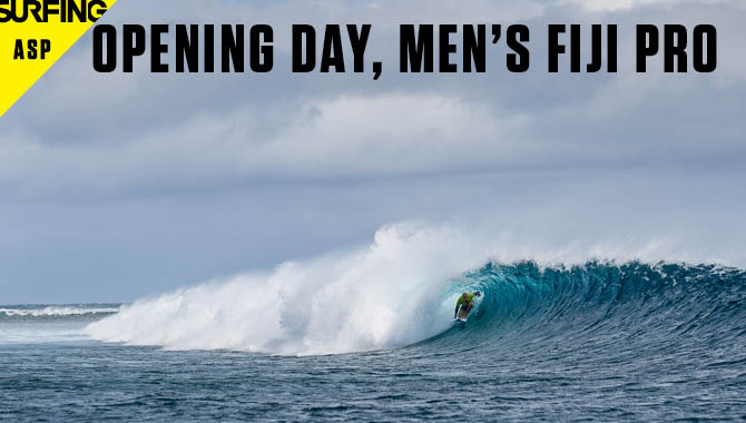 Fiji Pro Day 1 Coverage