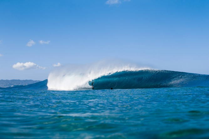 Think getting into Pipe Masters gave Landon McNamara a confidence boost? We do.
