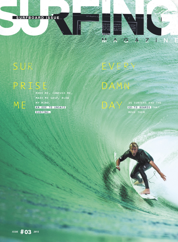 SURFING Magazine Issue 3, 2015