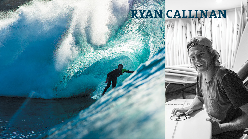 Ryan Callinan. Photos: Macfarlane