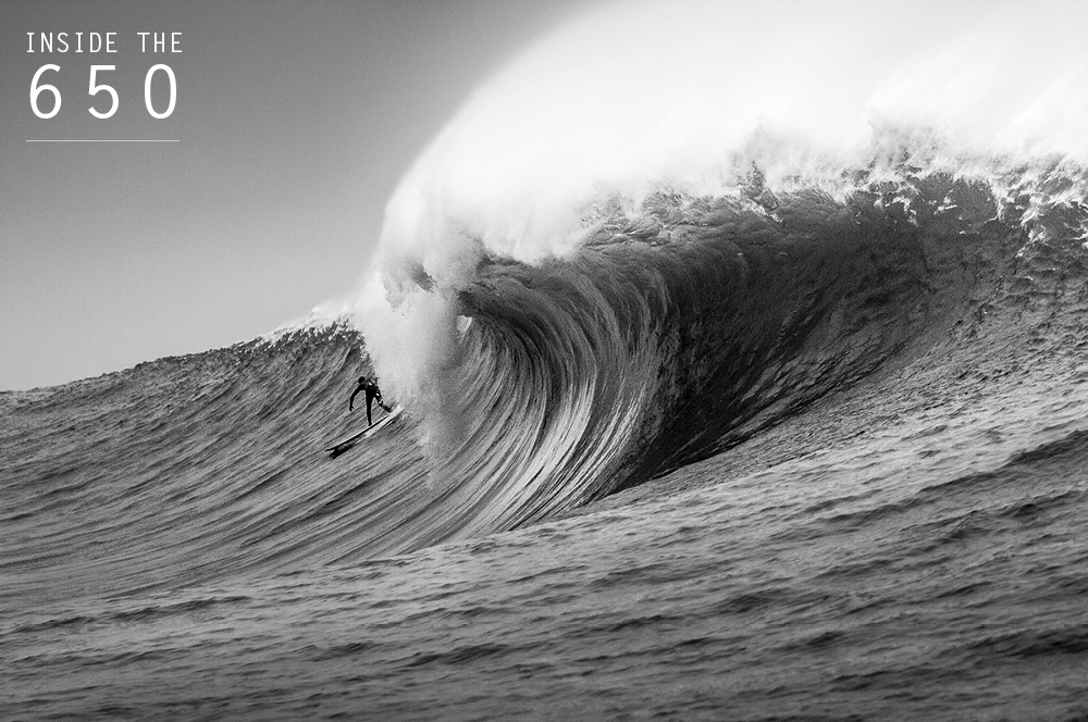 While venture capitalists place multimillion-dollar bets on the next big thing to come out of Silicon Valley, Nic Vaughan takes a risky venture of his own just up the road at Maverick's. Photo: Frank Quirarte
