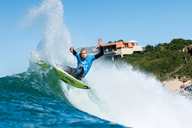 The type of attack we expect from Mick Fanning.