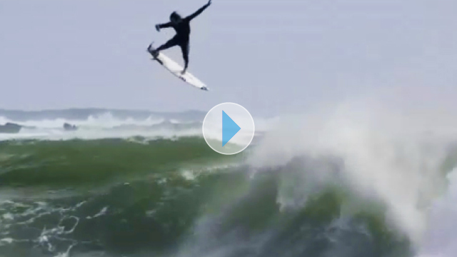 Jordy Smith Just Did The Biggest Alley-Oop Ever