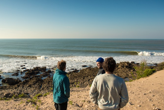 Morocco, with plenty of room to wiggle, and very little for excuses – Dane attempts the latter. Photo: Corey Wilson