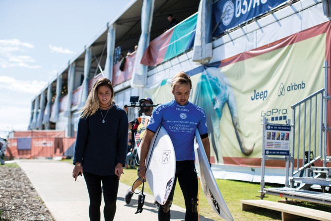 The WSL power couple. Step down Jack and Alana.