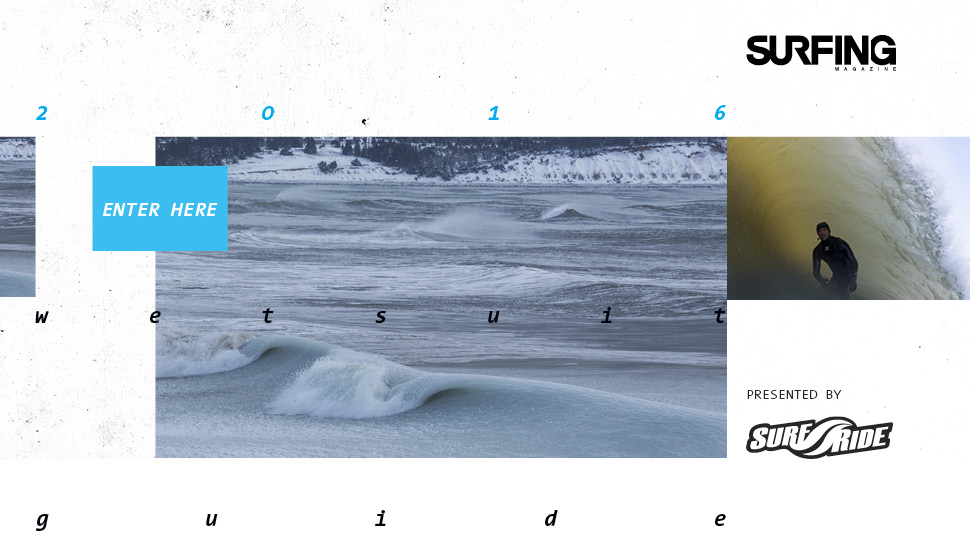 2016 Winter Wetsuit Guide Presented by SurfRide