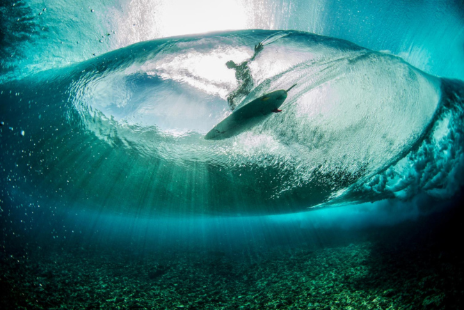 Photographer: Ben Thouard Red Bull Illume 2016 Category: Masterpiece Athlete: Landon McNamara Location: Teahupo'o, French Polynesia