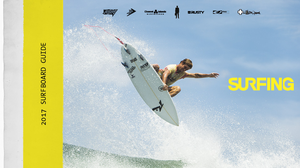 Surfing 2017 Surfboard Guide