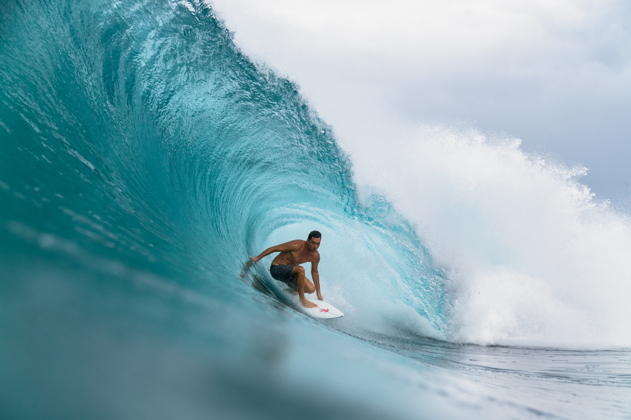 """We've already lost a couple of surf spots and we don't want to lose any more,"" says Otto Flores, pictured here slotted into one of the many world-class spots that encircle Puerto Rico. ""To mimic what Hawaii does, we want to keep the country, country."" Photo: Craig"