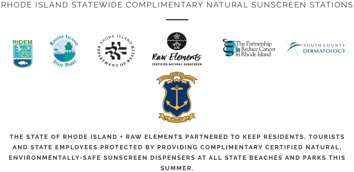 RhodeRhode Island Brings Back Complimentary Sunscreen Dispensers Provided by Raw Elements - SURFER Magazine