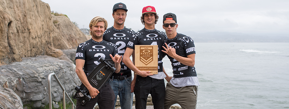 PACIFIC WAVE THREE-PEATS AT PLEASURE POINT