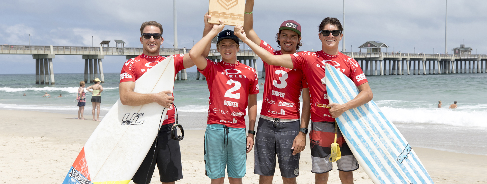 SWEETWATER SURF SHOP FOUR-PEATS THE MID-ATLANTIC